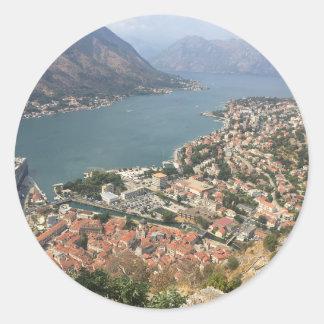 Kotor, Montenegro Classic Round Sticker