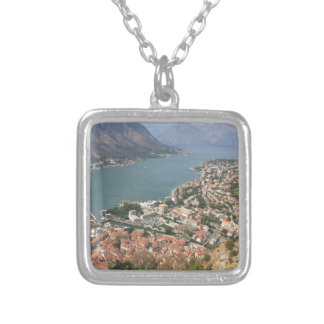 Kotor, Montenegro Silver Plated Necklace