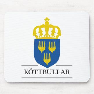 Köttbullar - mat från Sverige Mouse Pad
