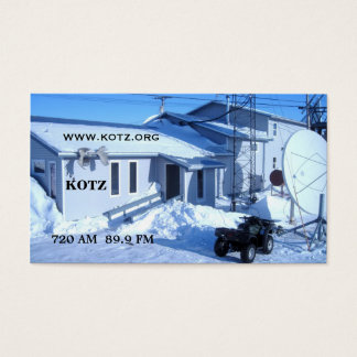 KOTZ RADIO CARDS