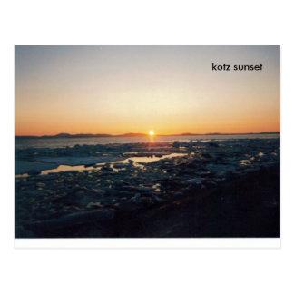 KOTZ SIN (2), kotz sunset Postcard