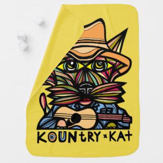 """Kountry Kat"" Baby Blanket"