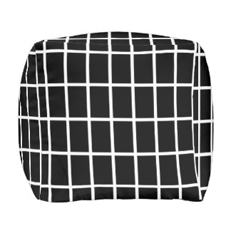 Koushijima Japanese Pattern Pouf B