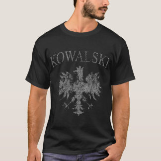 Kowalski Polish Eagle t shirt
