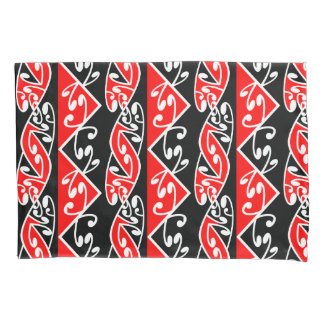 Kowhaiwhai Traditional Maori Koru Pattern Pillowcase