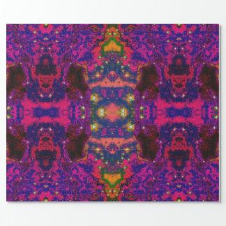 """Kozmyk Tiles"" Glossy Wrapping Paper, 30"" x 6'"