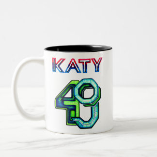 KP Unique Katy 49 Two-Tone Coffee Mug