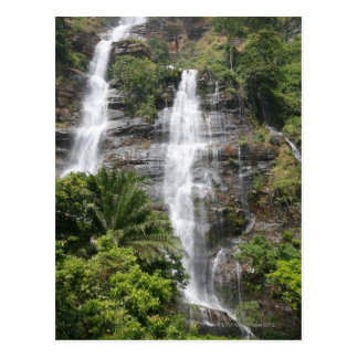 Kpalime waterfalls. Central Togo, West Africa 2 Postcard