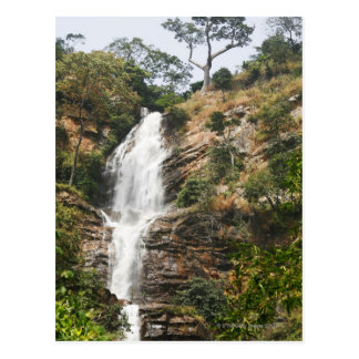 Kpalime waterfalls. Central Togo, West Africa Postcard