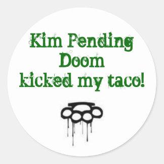 KPD stickie Classic Round Sticker