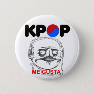 KPop Me gusta Meme, i like 2 Inch Round Button
