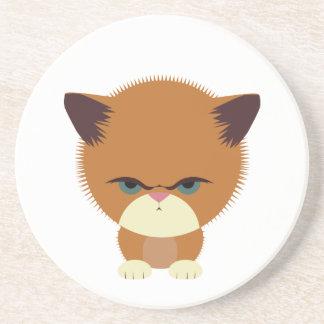 Krabby Kitty Drink Coasters