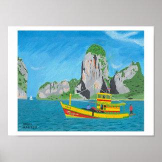 Krabi, Thailand Poster