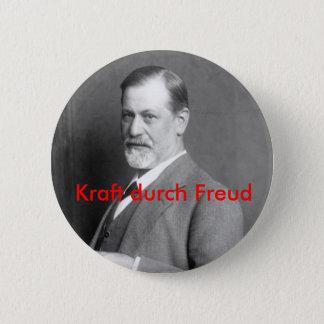 Kraft durch Freud 2 Inch Round Button