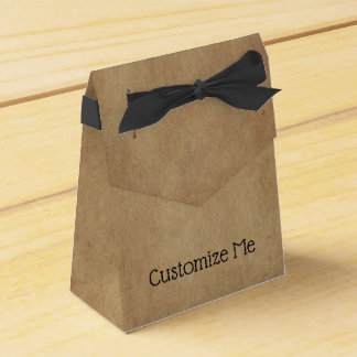 Kraft Paper Favor Box
