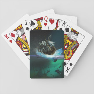 Kraken Attack Playing Cards