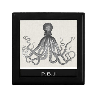 Kraken - Black Giant Octopus / Cthulu Gift Box