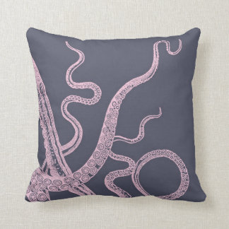 Kraken Octopus Purple Sea Monster pillow