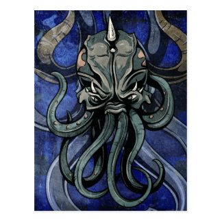 Kraken Postcard