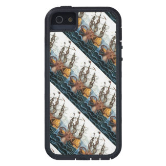 Kraken Steampunk Vintage Giant Octopus Pattern Case For The iPhone 5