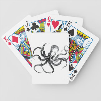 Krakken The Octopus Bicycle Playing Cards
