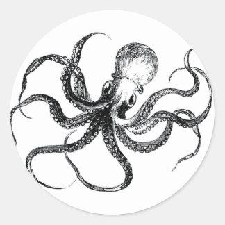 Krakken The Octopus Classic Round Sticker