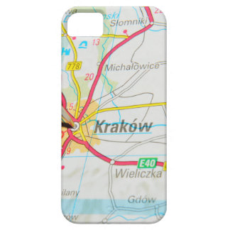 Kraków, Krakow, Cracow in Poland iPhone 5 Case