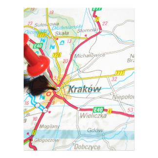 Kraków, Krakow, Cracow in Poland Letterhead
