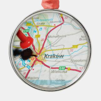 Kraków, Krakow, Cracow in Poland Metal Ornament