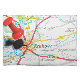 Kraków, Krakow, Cracow in Poland Placemat