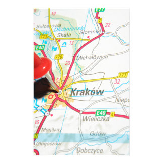 Kraków, Krakow, Cracow in Poland Stationery