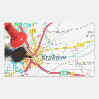 Kraków, Krakow, Cracow in Poland Sticker