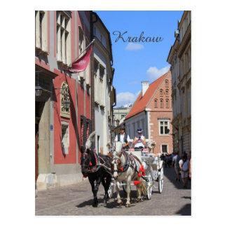 Krakow, Mariacki Church, St Mary's church, gifts Postcard