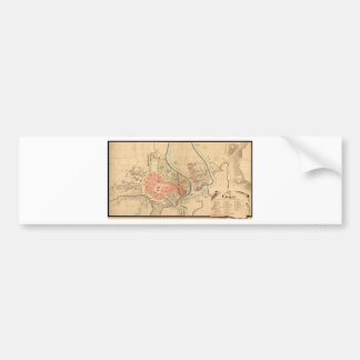Krakow Poland 1755 Bumper Sticker