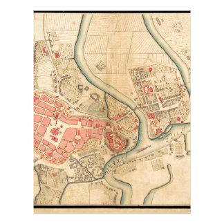 Krakow Poland 1755 Letterhead