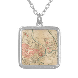 Krakow Poland 1755 Silver Plated Necklace