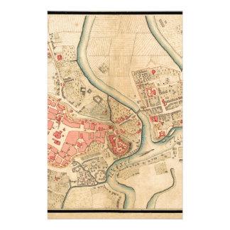 Krakow Poland 1755 Stationery