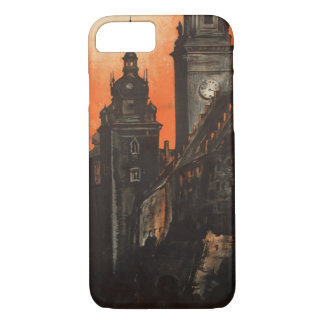 Krakow Poland - Vintage Polish Travel Poster iPhone 7 Case