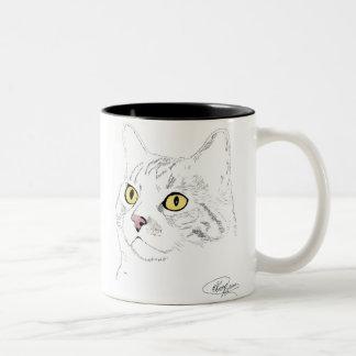 Kramer Drawing Two-Tone Coffee Mug