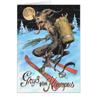 Krampus 2017 Greeting Card