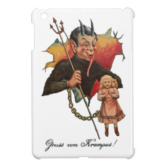 Krampus Breaking Through iPad Mini Cover