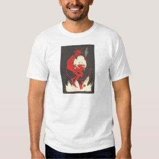 Krampus Burning Hearts Shirts