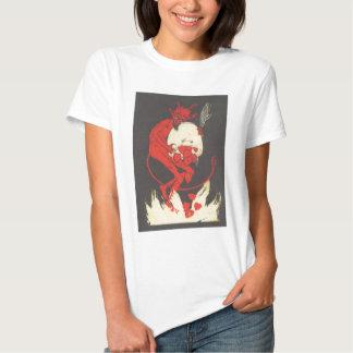 Krampus Burning Hearts Tshirt