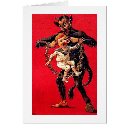 Krampus! Card