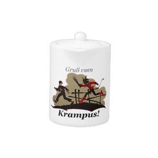 Krampus Chases Kid