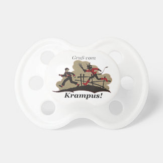 Krampus Chases Kid Pacifier