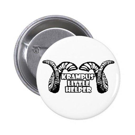 Krampus' Little Helper Button