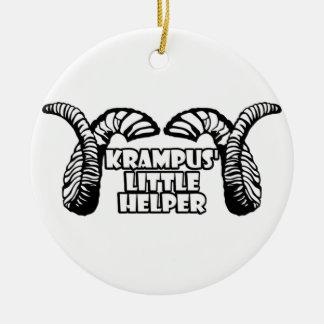 Krampus' Little Helper Ceramic Ornament