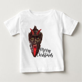 krampus merry christmas baby T-Shirt