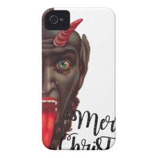 krampus merry christmas Case-Mate iPhone 4 cases